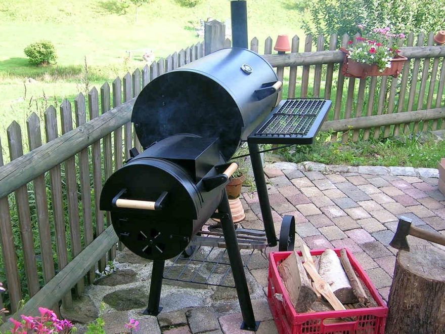 smoker grill barbecue
